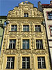 Old tenement house Under the Star in Torun, Poland