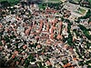 Aerial view of Jelenia Gora in Poland