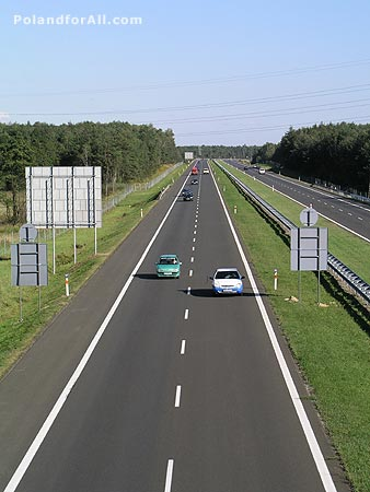 A4 Highway Wroclaw - Cracow