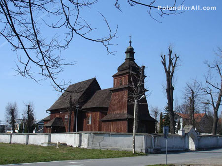 Church of St Erasmus in Barwald Dolny