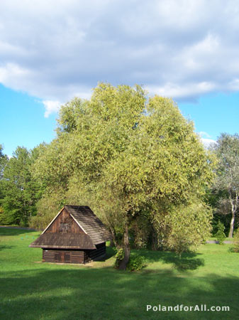 Etnography park - open air museum in Chorzow