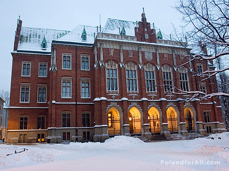 Collegium Novum, Jagiellonian University in Cracow