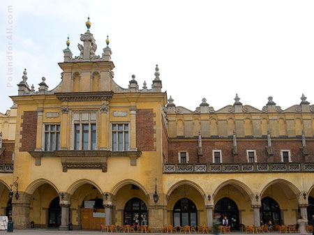 Sukiennice - old silk market in Cracow