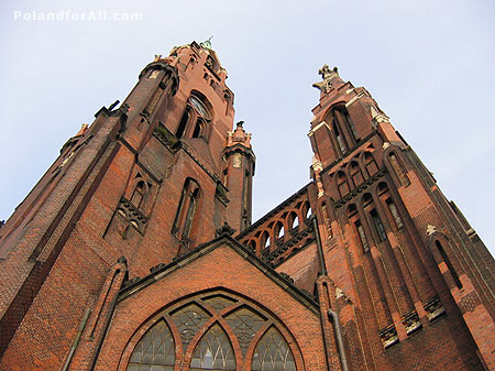Neo gothic Basilica of Angelic Mother of God