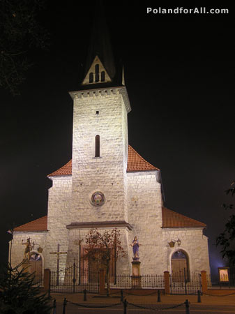 church in Dobczyce