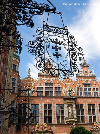 Baroque Architecture on Pictures Of Poland     Cities     Gdansk     Baroque Architecture