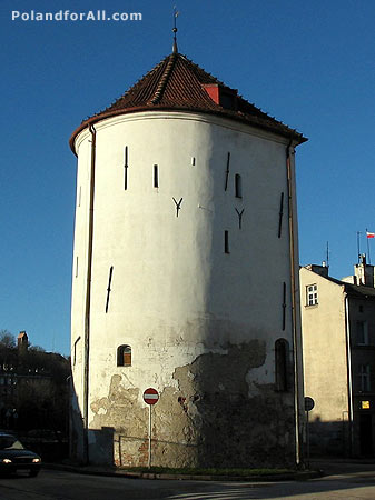 White Tower in Gdansk