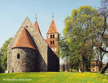 St Marys romanesque church in Inowroclaw
