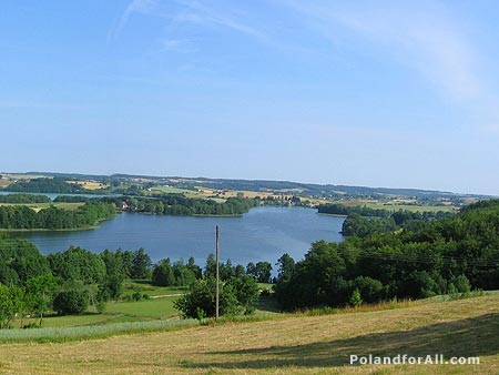 Kashubian Lakeland - Lake Biale and Rekowo