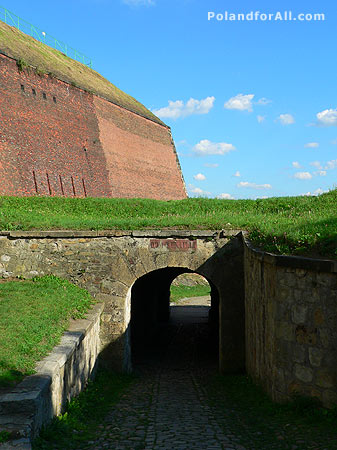 Fortress gate in Klodzko