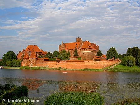 Malbork - the biggest castle in Europe.