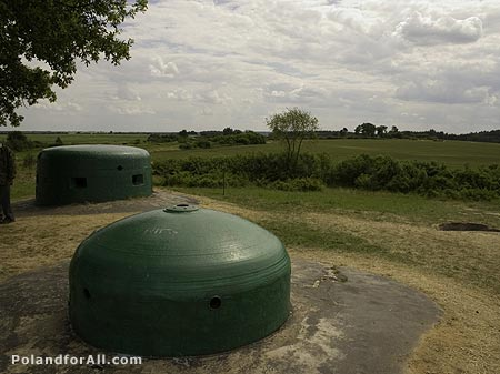 Miedzyrzecz Fortifications Region - concrete and steel bunkers