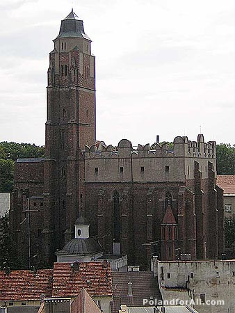 St John the Evangelist Church in Paczkow