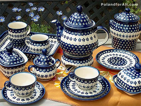 Polish pottery from Boleslawiec