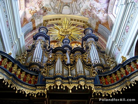 Baroque organ of Swieta Lipka