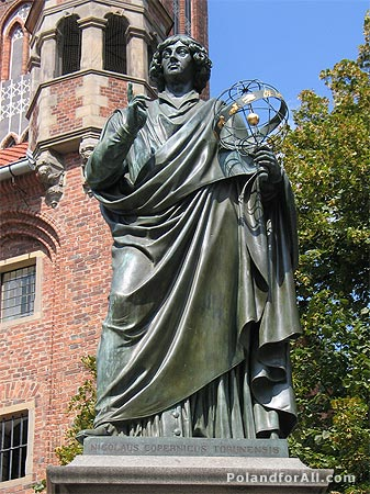 Monument of Nicolaus Copernicus in Torun