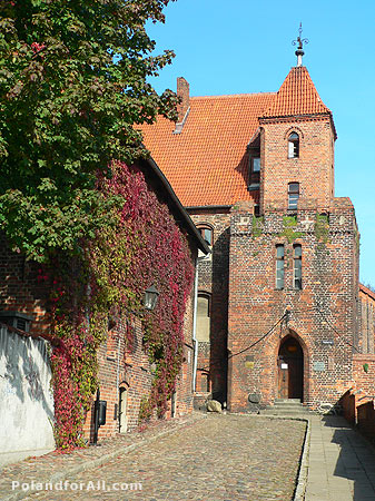 Burghers Court in Torun