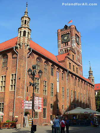 City hall in Torun