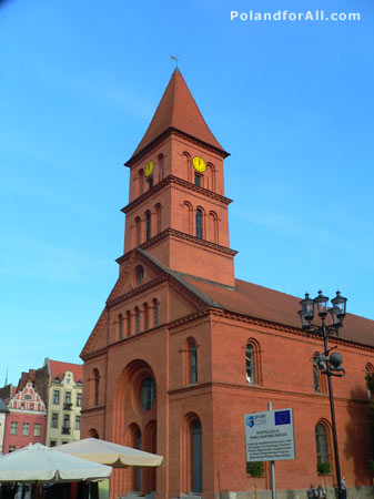 Evangelical church of the Holy Trinity