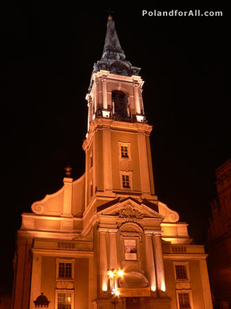 Holy Spirit church in Torun