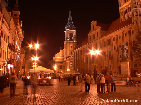 Photo of Market square in Torun