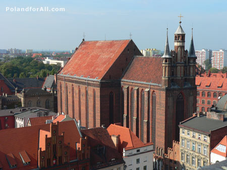 St Mary's church in Torun